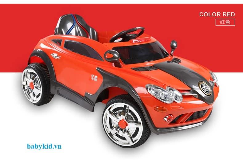 xe ô tô điện trẻ em YH-99170 màu đỏ