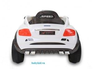 xe ô tô điện trẻ em YH-99170 màu trắng sang trọng