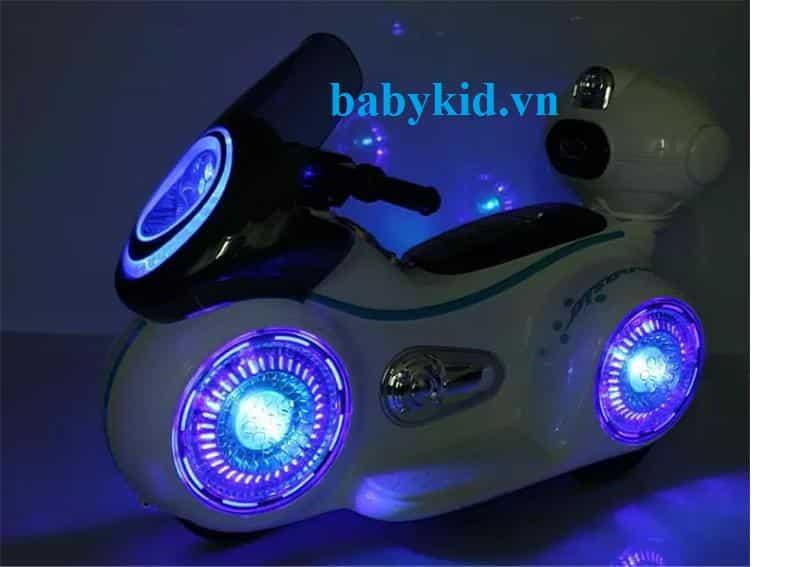 xe máy điện trẻ em 9803 đèn