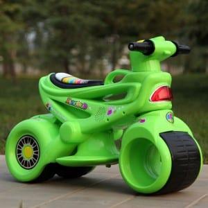 Xe máy điện trẻ em MS-5188 màu xanh