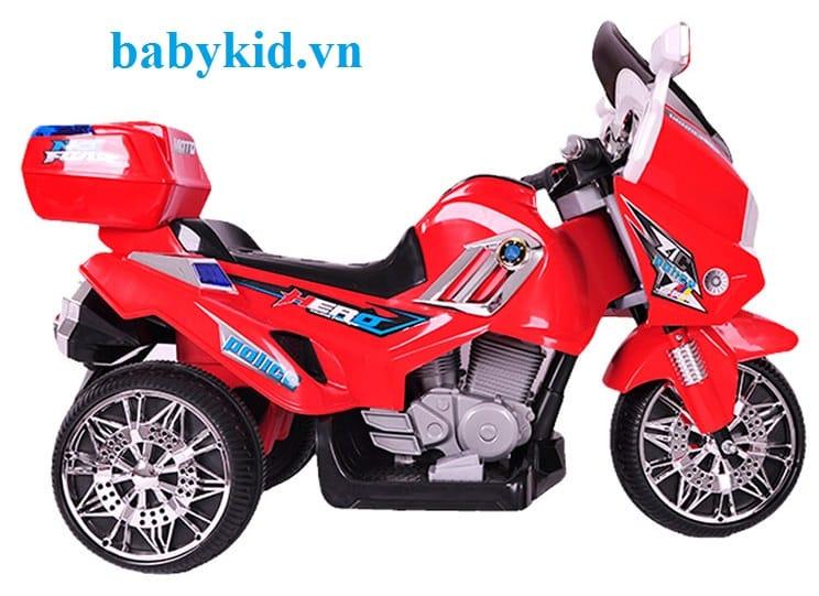 Xe máy điện trẻ em 8815 màu đỏ