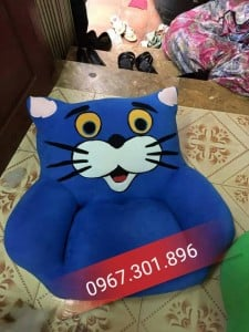 Ghế lười hình thú size M hình mèo
