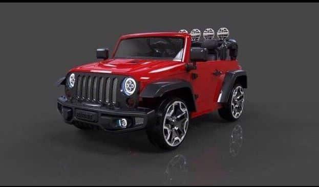 xe ô tô điện trẻ em 1318 màu đỏ