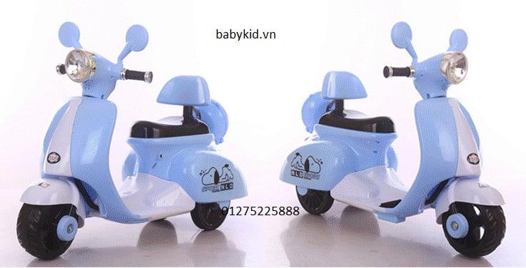 Xe máy điện trẻ em 3279 kiểu dáng sang trọng