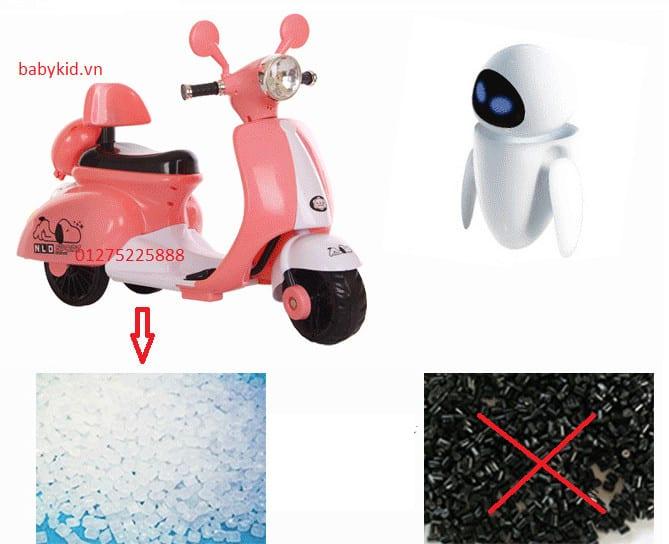 xe máy điện trẻ em 3279 (Vespa)