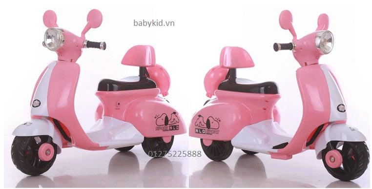 xe máy điện trẻ em 3279 ( vespa) cao cấp giá rẻ