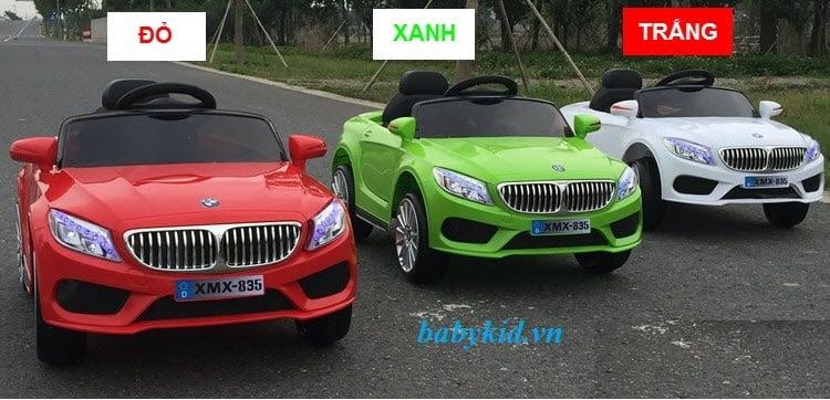 Xe ô tô điện trẻ em XMX-835 chất lượng cao kiểu dáng đẹp giá thành rẻ