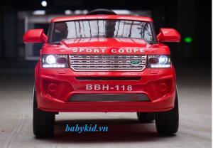 Xe ô tô điện trẻ em BBH-118 đỏ