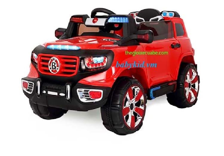 Xe ô tô điện trẻ em BI-118 màu đỏ