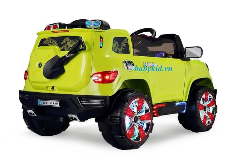 Xe ô tô điện trẻ em BI-118