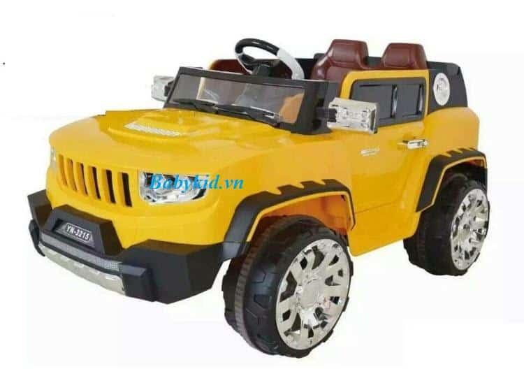 Xe ô tô điện trẻ em YN-3215 màu vàng