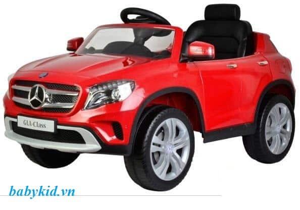 xe ô tô điện trẻ em 653R màu đỏ