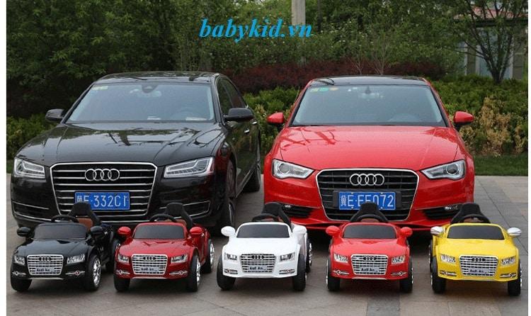 xe ô tô điện trẻ em Audi A8L cao cấp