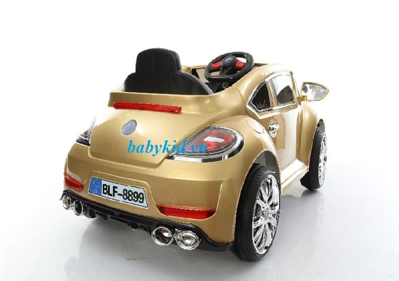 xe ô tô điện trẻ em BLF-8899 màu đồng 1