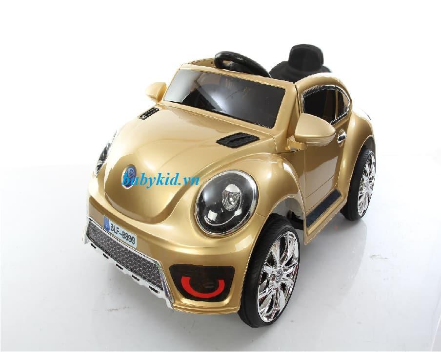 xe ô tô điện trẻ em BLF-8899 màu đồng