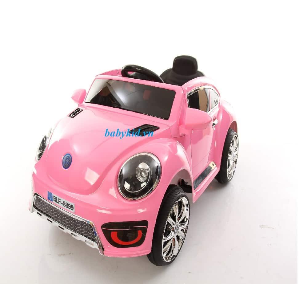 xe ô tô điện trẻ em BLF-8899 màu hồng