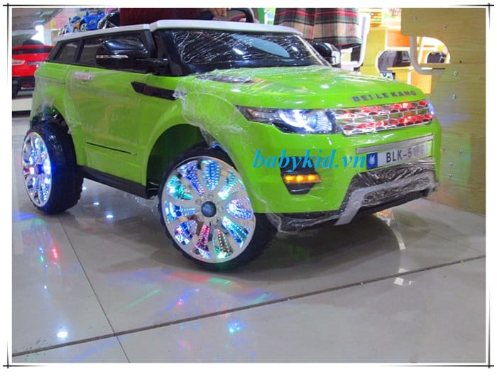 xe ô tô điện trẻ em BLK-5188 cao cấp giá rẻ tại Hà Nội màu xanh