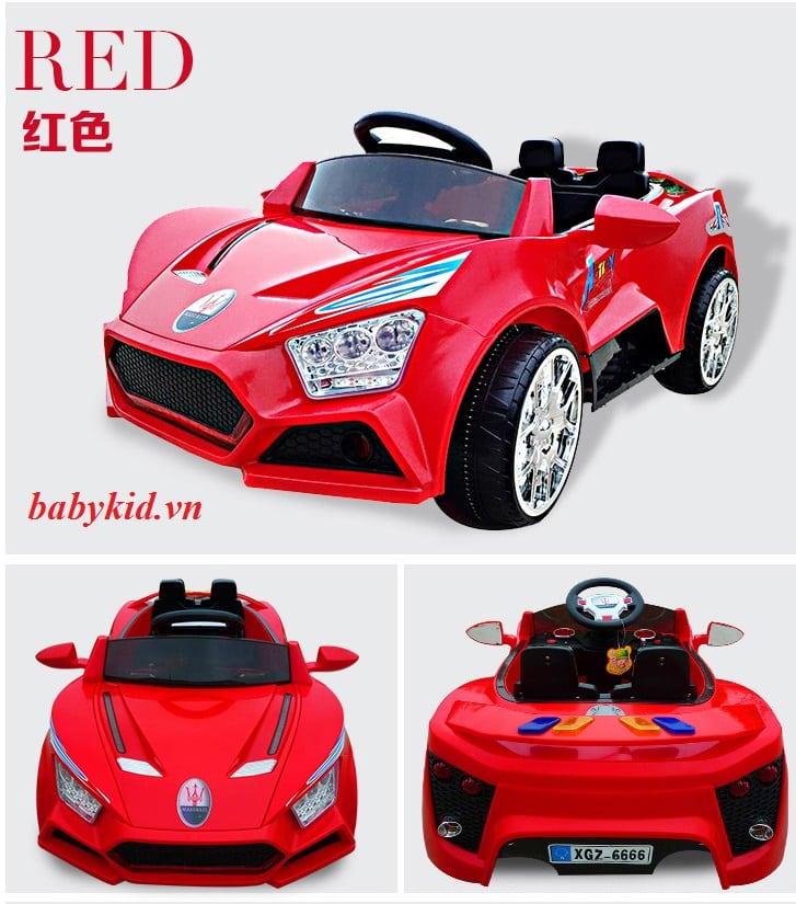 xe ô tô điện trẻ em BQ6666