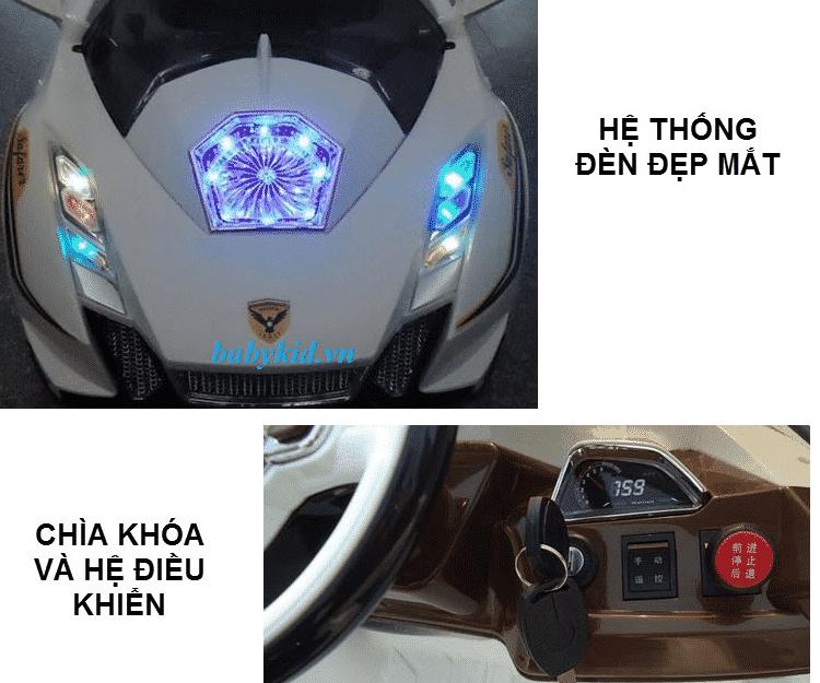 xe ô tô điện trẻ em YC-35