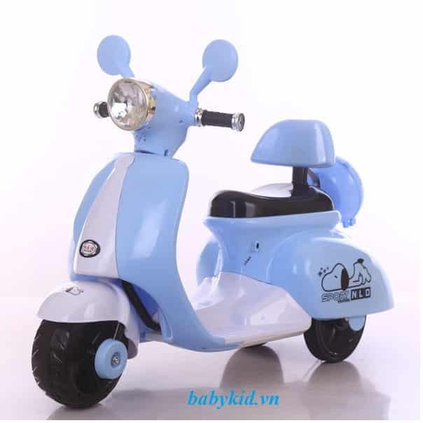 xe máy điện trẻ em 3279 màu xanh
