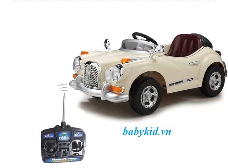 Xe ô tô điện trẻ em JE-128 điều khiển tần số cao