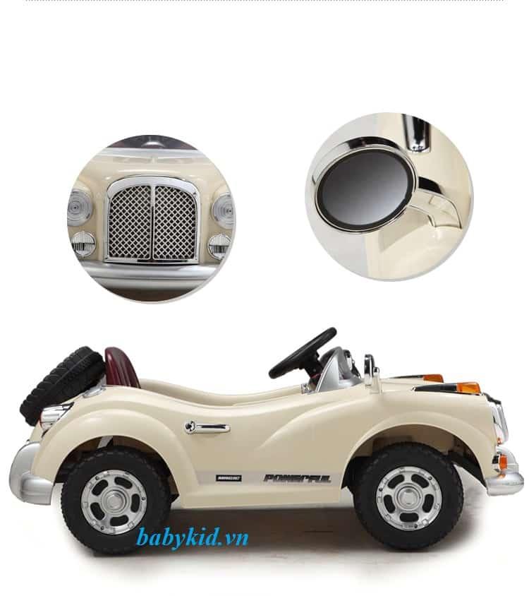 Xe ô tô điện trẻ em JE-128 mẫu xe cổ 1
