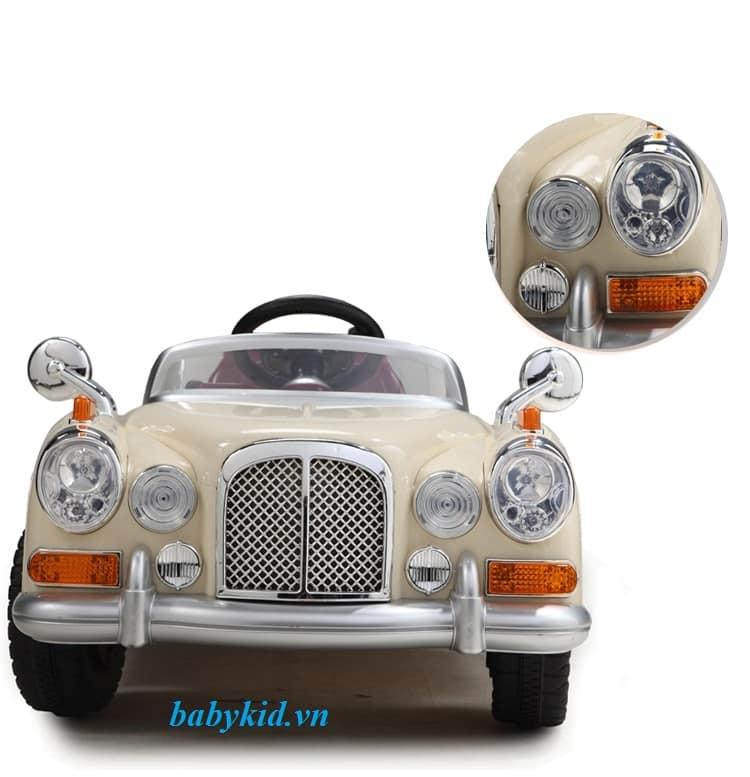 Xe ô tô điện trẻ em JE-128 mẫu xe cổ