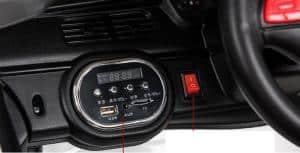 Xe ô tô điện trẻ em PB-807 1 bảng điều khiển
