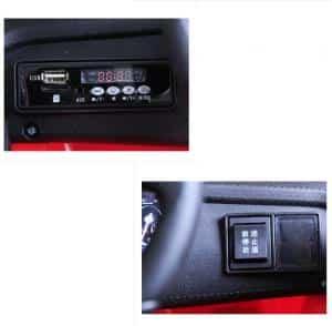 xe ô tô điện cho bé S698 các chức năng của xê