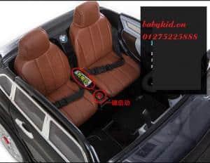 xe ô tô điện trẻ em A-998 ghế đôi bọc da