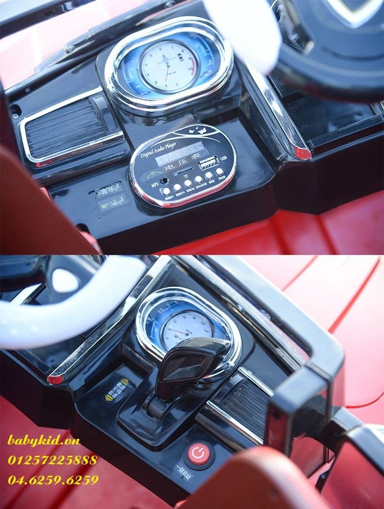 xe ô tô điện trẻ em HSD-8101 các chức năng
