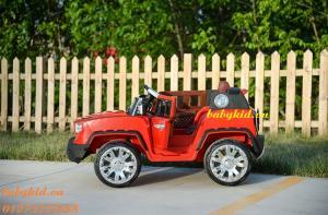 xe ô tô điện trẻ em HSD-8101 màu đỏ giá rẻ nhất