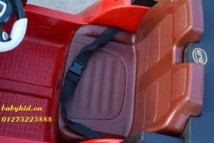 xe ô tô điện trẻ em HSD-8101 mô phỏng 2 ghế ngồi rộng