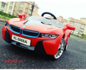 xe ô tô điện trẻ em KL-5068A màu đỏ giá tốt