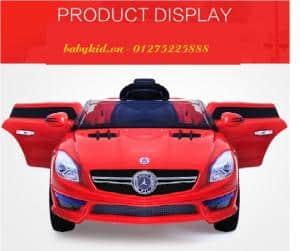 xe ô tô điện trẻ em S698 màu đỏ cao cấp mới