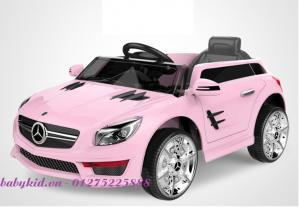 xe ô tô điện trẻ em S698 màu hồng