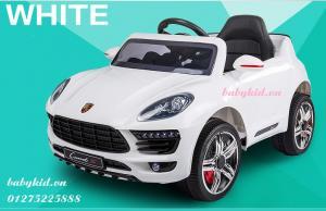 xe ô tô điện trẻ em WTM-5188 màu trắng có bàn ăn