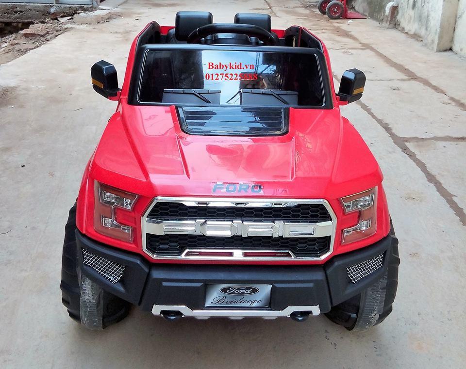 Xe ô tô điện trẻ em BDQ-168 màu đỏ (3)