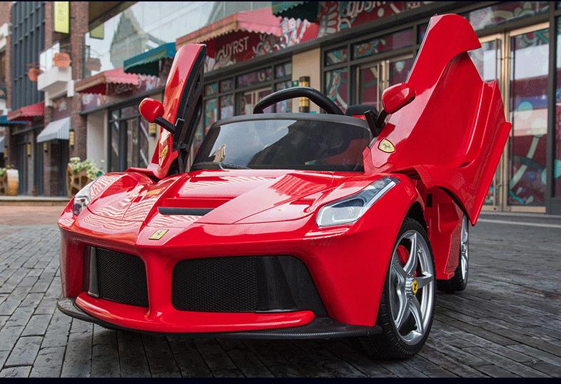Xe ô tô điện trẻ em LaFerrari F01 màu đỏ (1)