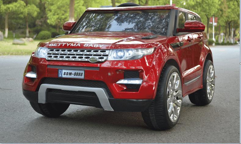 Xe ô tô điện trẻ em Rangrover màu đỏ