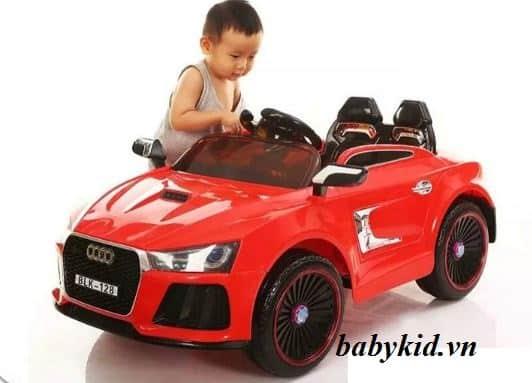 xe ô tô điện trẻ em BLK-128 audi