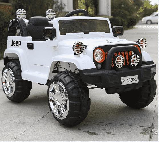 xe ô tô điện trẻ em Jeep Fb-716 màu trắng