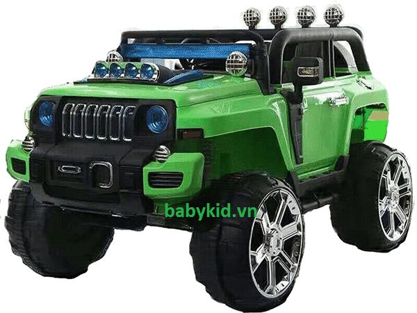 xe ô tô điện trẻ em Jeep HLX - 5188