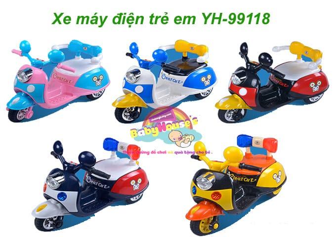 Xe máy điện trẻ em YH-99118