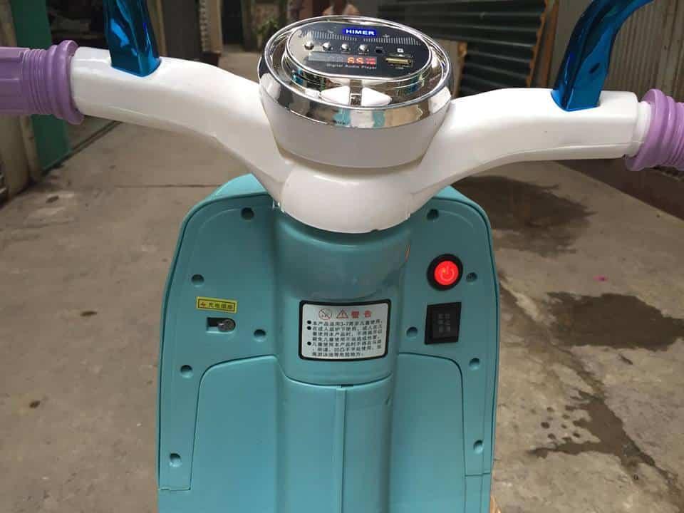 Xe máy điện trẻ em Elsa