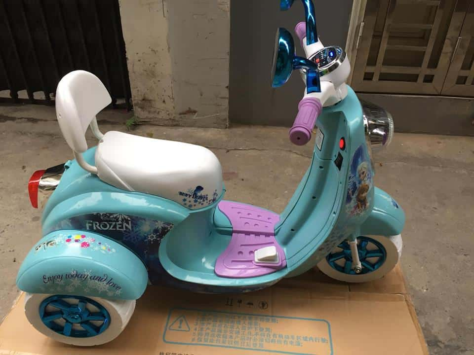 Xe máy điện trẻ em Elsa4