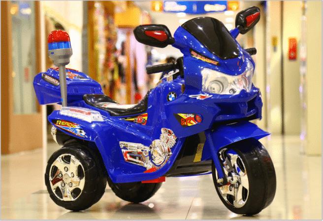 Xe máy điện trẻ em police YT-9988.12