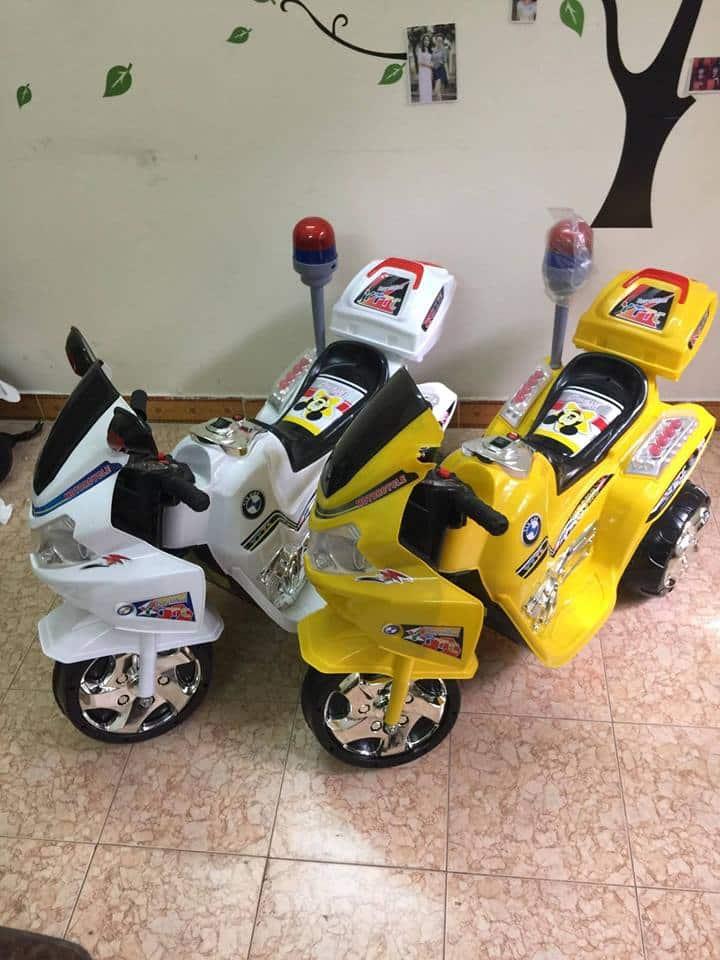 Xe máy điện trẻ em police YT-9988.5 - Copy