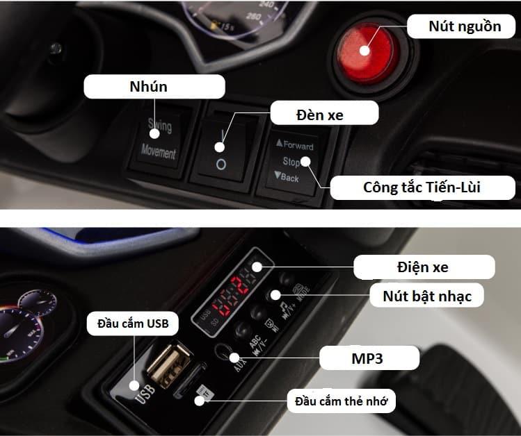 xe ô tô điện trẻ em qls-5188.15
