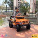 Xe điện cho bé Jeep Humer LT 518 ghế đôi tách rời